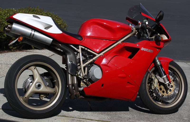 1998 Ducati 916 Mountain View Ca Ducati Ms The