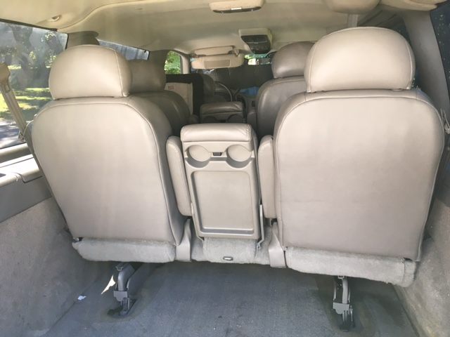 AstroSafari com • Do these bench seats fold flat or what??